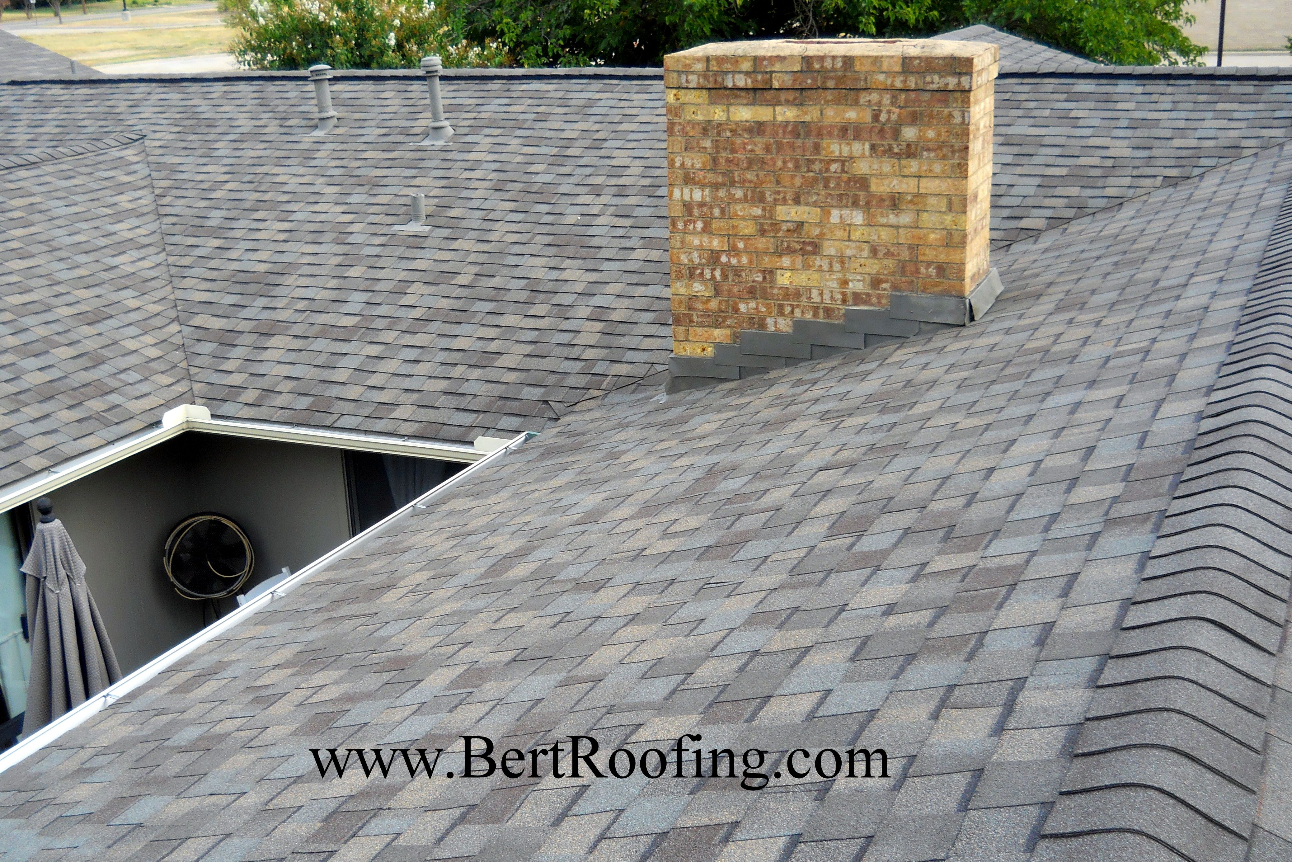 Certainteed Landmark Ir Impact Resistant Class 4 Composition Shingle Color Weathered Wood Installed By Bert Roofi Shingle Colors Roofing Roofing Contractors