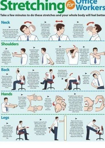 Exercise Made Fun and Safe - Work Safety - Stretching Posters stretching tips  flexibility #plates #...