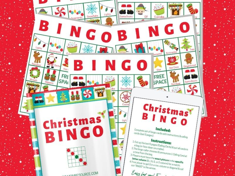 Christmas printable bingo cards for large group (up to 140) | Bingo cards  printable, Bingo printable, Bingo cards