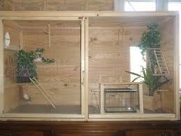Résultats de recherche d\'images pour « voliere interieur de bois ...