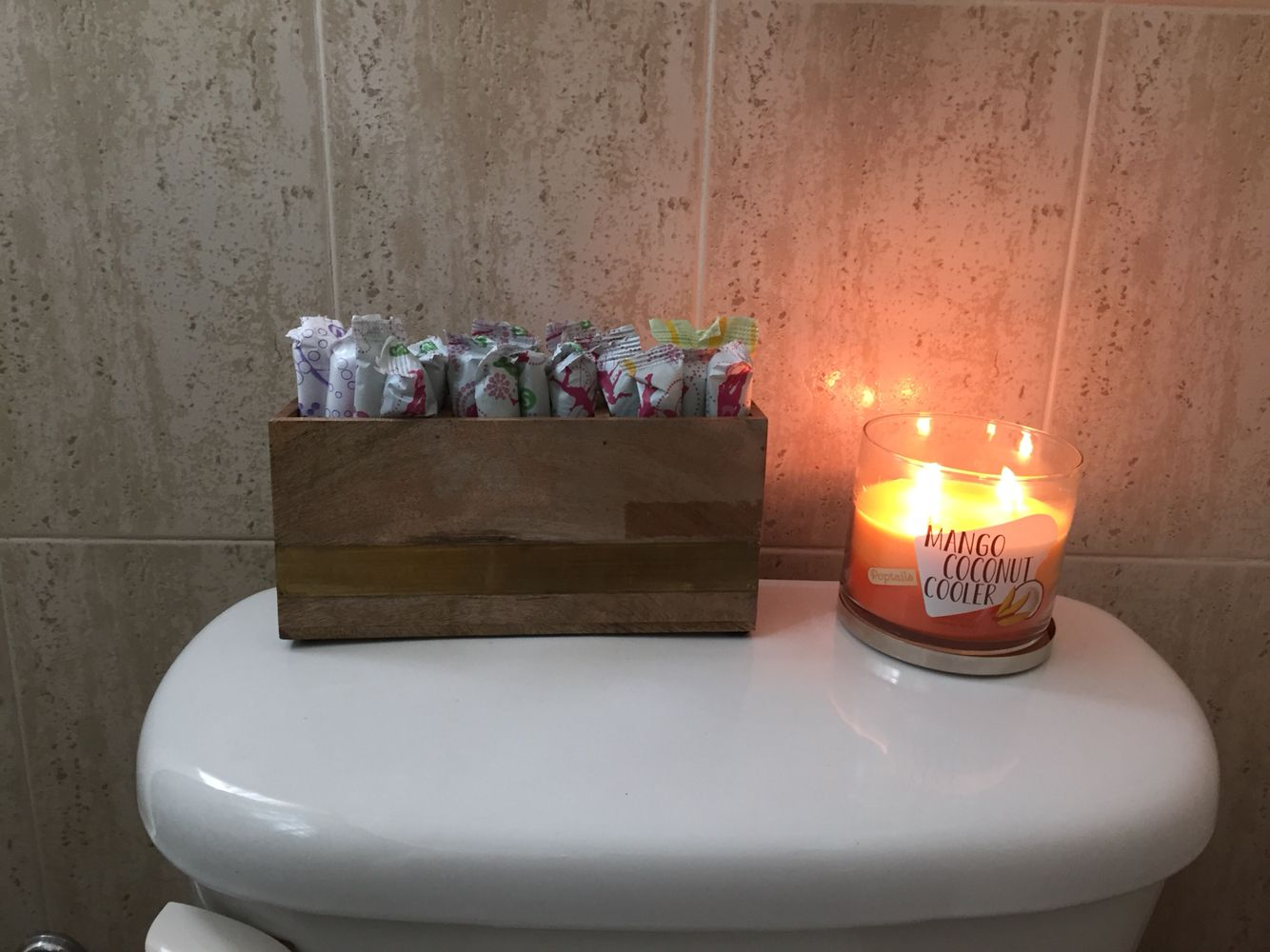Diy Tampon Holder For Bathroom  Diy Home Projects  Pinterest Beauteous Can You Go To The Bathroom With A Tampon In Design Decoration