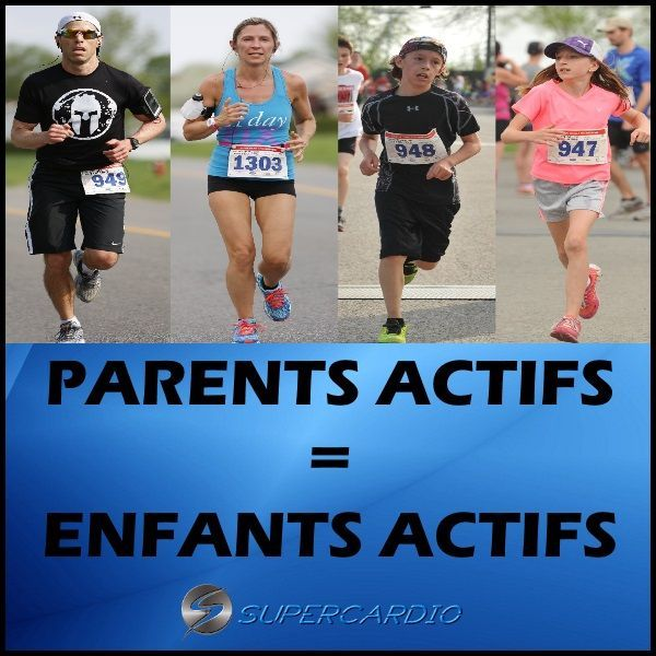 parents actifs enfants actifs citation fitness supercardio  #actifs #citation #enfants #fitness #par...