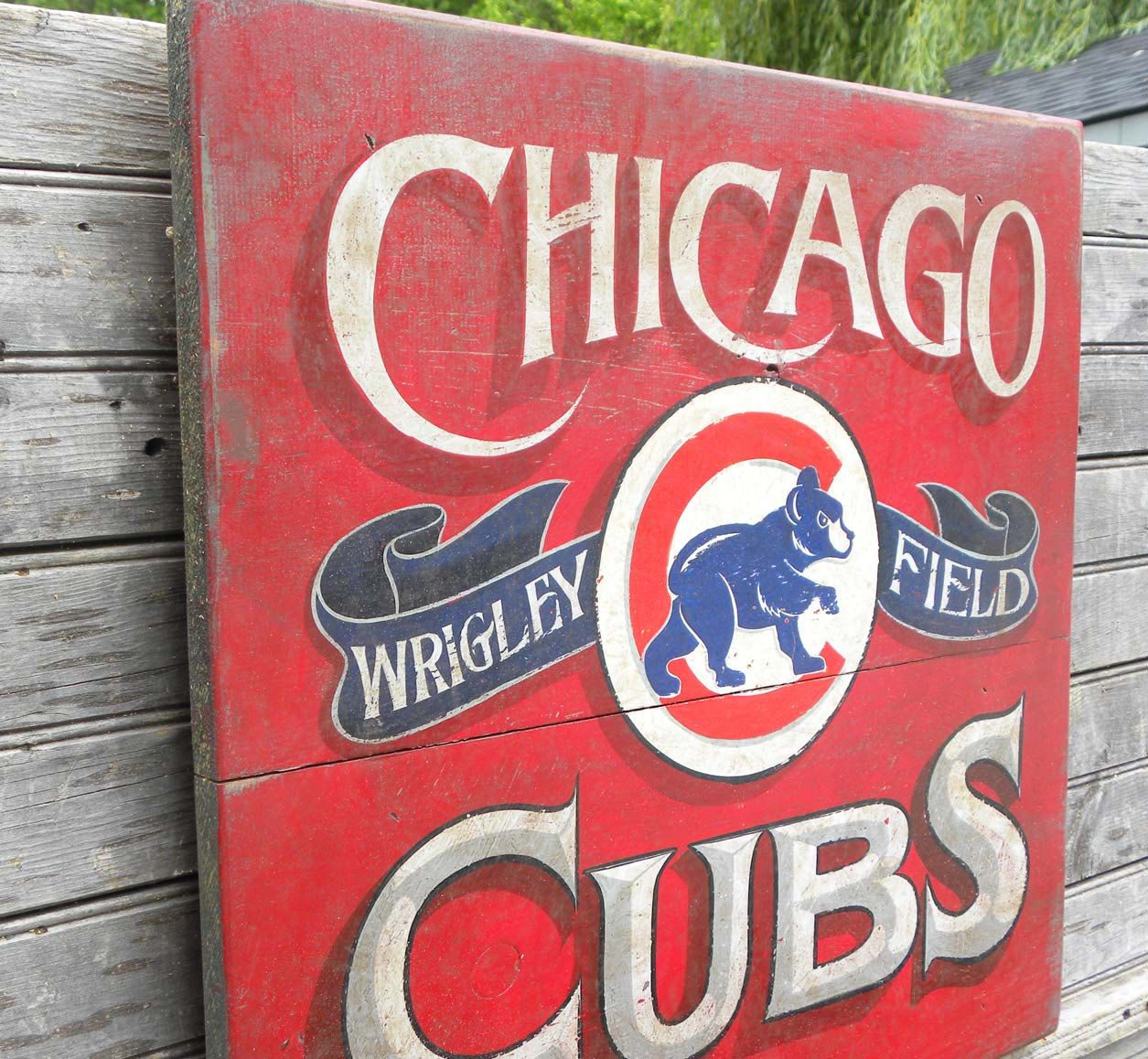 Pin By Barbara Calixto On Cubs Themed Nursery Ideas Chicago Cubs Vintage Chicago Cubs Print Chicago Cubs