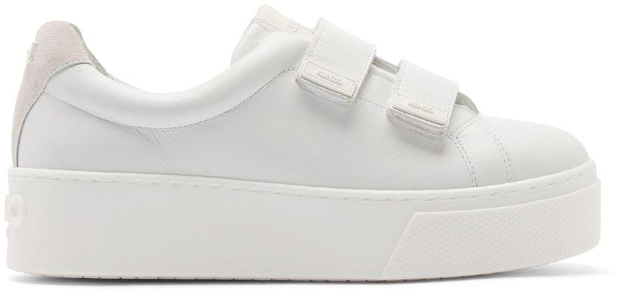 VELCRO - Sneaker low - blanc vRPfgOpC
