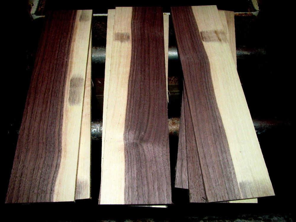 Two 2 Square Feet Thin Sanded Kiln Dried Sappy Walnut 12 X 3 X 1 4 Lumber Lumber Woodworking Projects Kiln Dry
