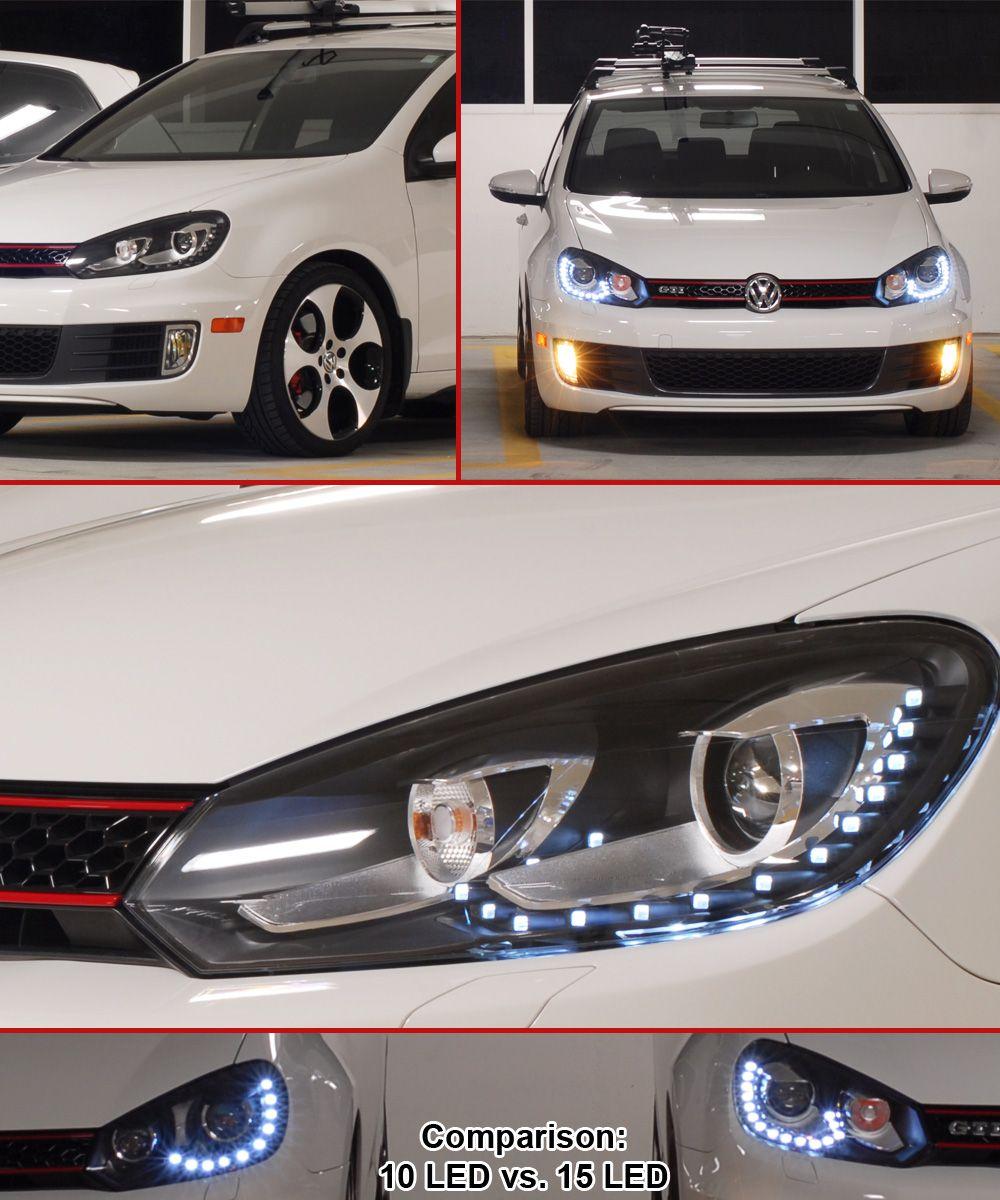 mk6 golf r stock headlights