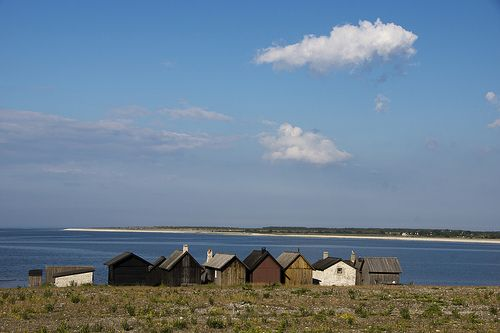 Cottages in Gotland, a gorgeous Swedish island in the Baltic Sea
