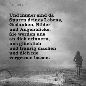 Prächtig Trauerspruch | Sprüche | Grief, Sad und I miss you &NB_85