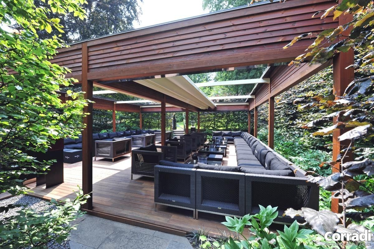 wie ein homesthetics holz pergola bauen | pergola-designs im, Gartengerate ideen
