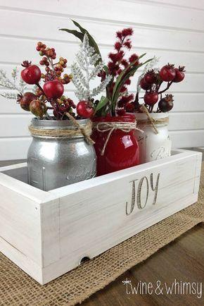 33 stunning rustic christmas decoration