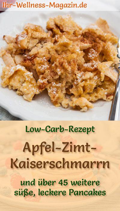 Photo of Low Carb Apfel-Zimt-Kaiserschmarrn – süßes Pfannkuchen-Rezept