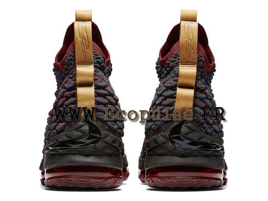 Nike LeBron 15 Prix XV Chaussures Officiel Nike Prix 15 Homme Noir   rouge e3d650