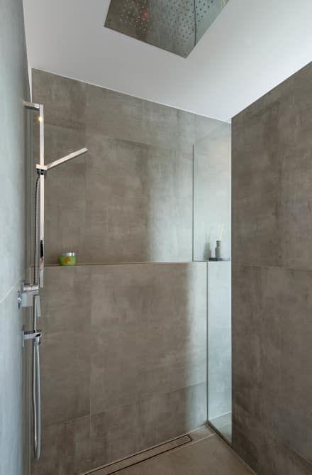 Badezimmer Ideen, Design und Bilder - deckenleuchten für badezimmer
