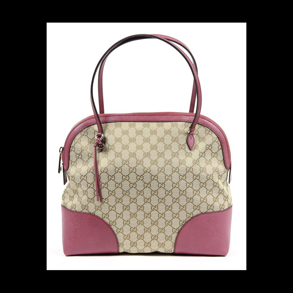 bd68d4af8e7f57 Gucci Ladies Bree Original GG Canvas and leather Handbag/shoulder bag.  Brand NEW!
