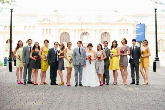 Mismatched Bridal Parties Wedding Party Www Winwithmtee