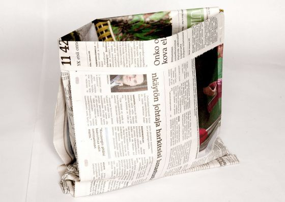 How To Fold A Newspaper Tabloid And Regular Sized Into