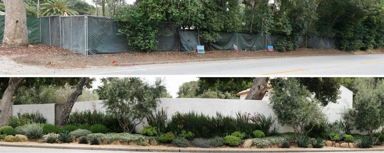 Mediterranean Cottage Rob Maday Landscape Architecture Santa Barbara Bay Area Architect