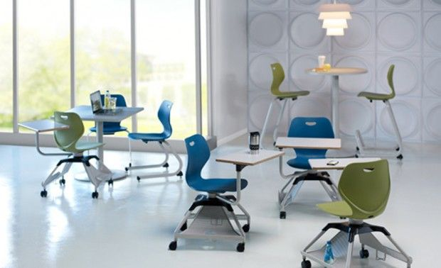 unique seating with dual handed design learn2 for educational