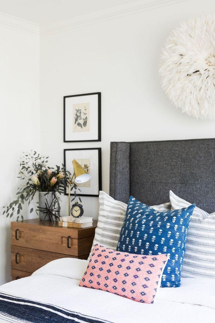 Master bedroom nightstand decor  Bed  Nightstand  Lighting Combinations  Pinterest  Studio mcgee