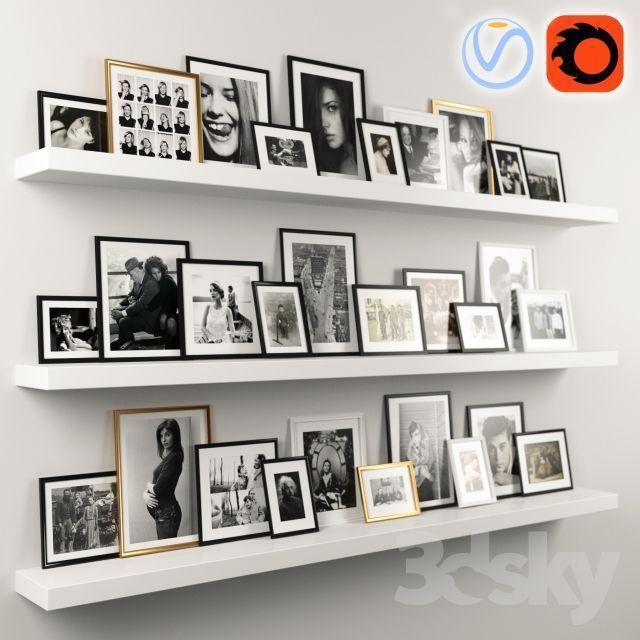 Photo Wall – #Photo #Wall #wallorganizer – Bilderrahmen Wand – Water