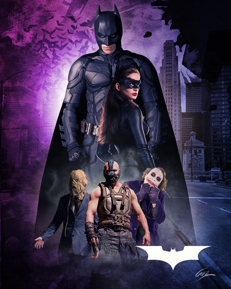 Dark Knight Trilogy By Https Www Deviantart Com Pzns On Deviantart Batman Pictures Batman Poster The Dark Knight Trilogy