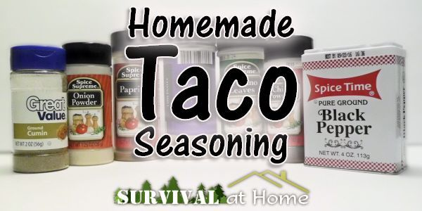 Homemade Taco Seasoning #tacoseasoningpacket I love tacos! Beef, chicken, pork, even fish. You name it, chances are I'll put it in a taco. But the taco seasoning packets in the stores bother me. #tacoseasoningpacket