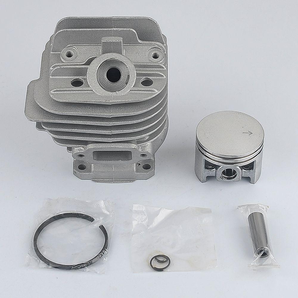44mm Cylinder Piston Head Assembly rebuild kit fit For Stihl