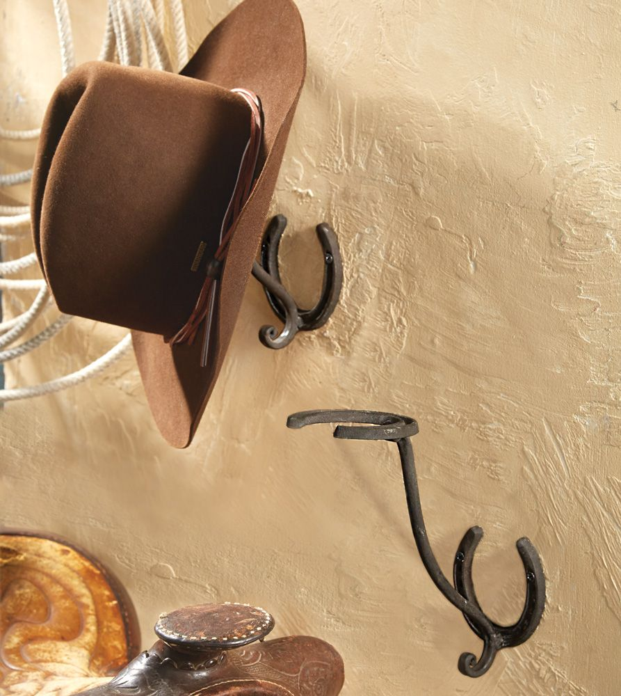 Horseshoe Cowboy Hat Rack Cowboy Hat Rack Diy Hat Rack Hat Rack