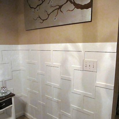 Contemporary Wainscoting Addicted 2 Decorating Diy
