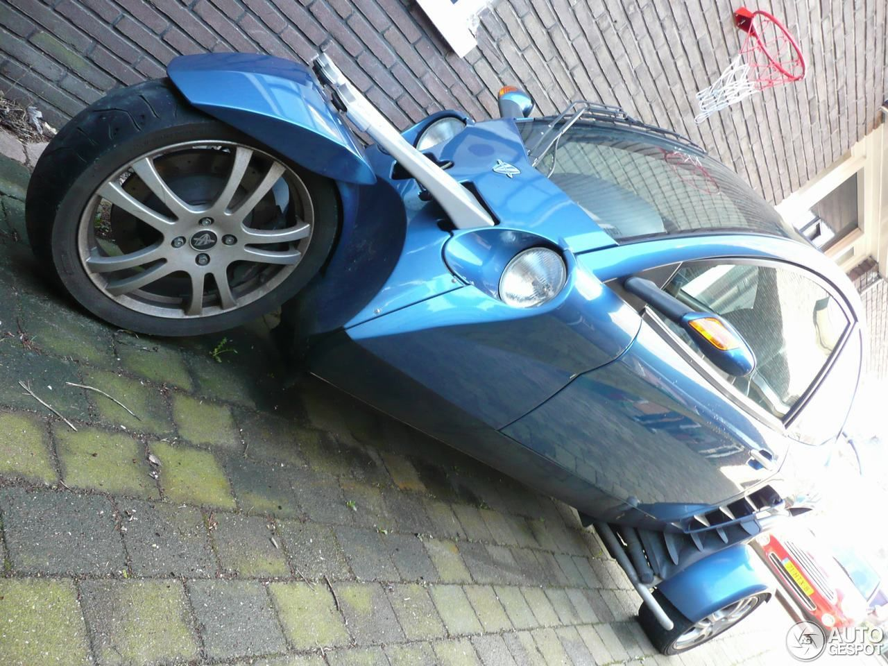 Nice blue Carver One in Netherlands the home of the Carver