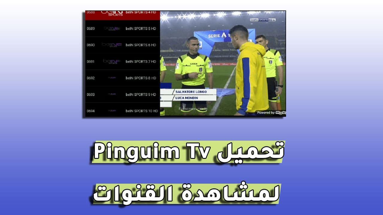 تحميل تطبيق Pinguim Tv Apk لمشاهدة القنوات المشفرة و متابعة الأفلام للأندرويد Tv Desktop Screenshot Lucas
