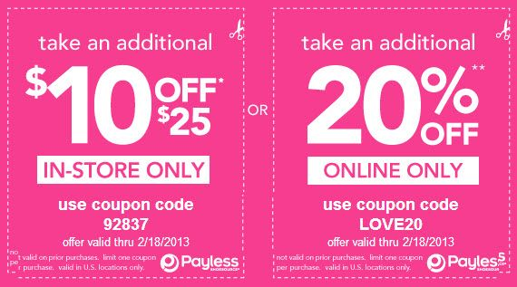 Fall In Love With Shoe Savings Payless Shoes Coupons 7 Cash Back Free Printable Coupons Printable Coupons Print Coupons