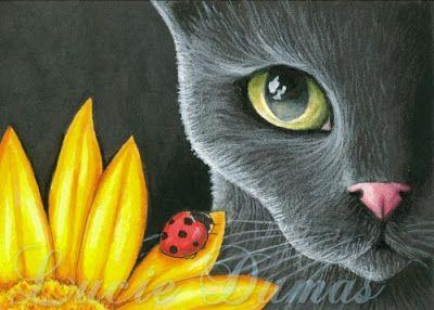 * Gatos Sin Guantes *: Los gatos en el arte