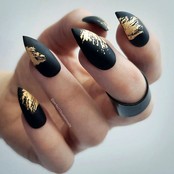 Fantabulous Pointy Nails Designs You Would Love To Have Nails