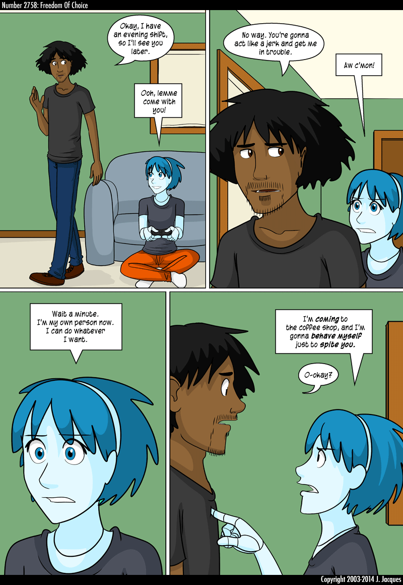 Questionable Content New comics every Monday through