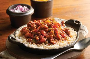 """Need something to warm up your cowpokes? Pass a few bowls of this spicy chili 'round the campfire and see if you don't hear a """"Yee-haw"""" or two."""