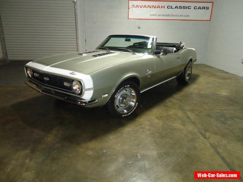 1968 Chevrolet Camaro SS Convertible 2-Door #chevrolet #camaro #forsale #unitedstates
