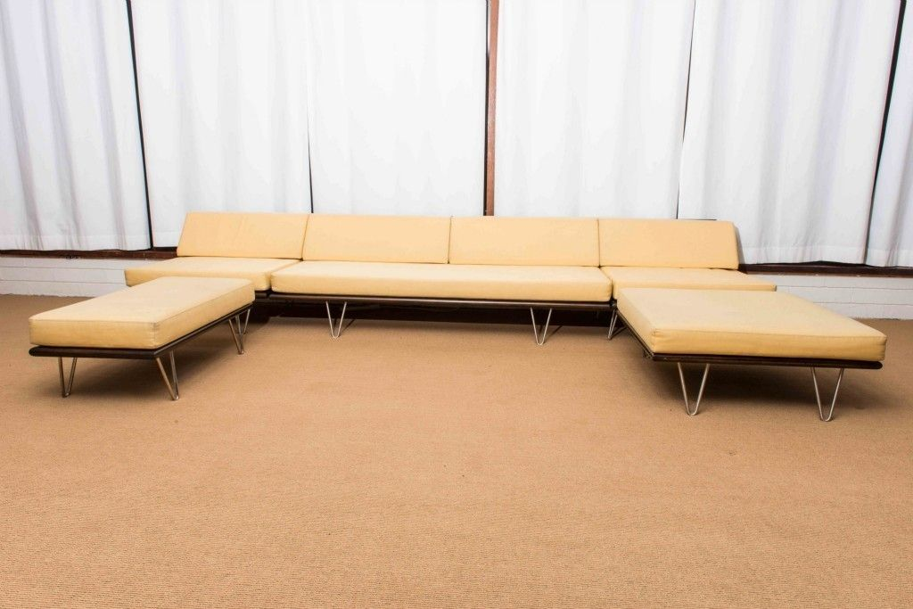 Modernica Case Study Daybed V Leg Sofa Collection Geroge Nelson Eames Dwr