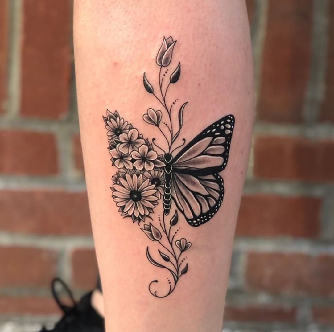 70+ Absolutely Beautiful Butterfly Tattoo Designs - The XO Factor