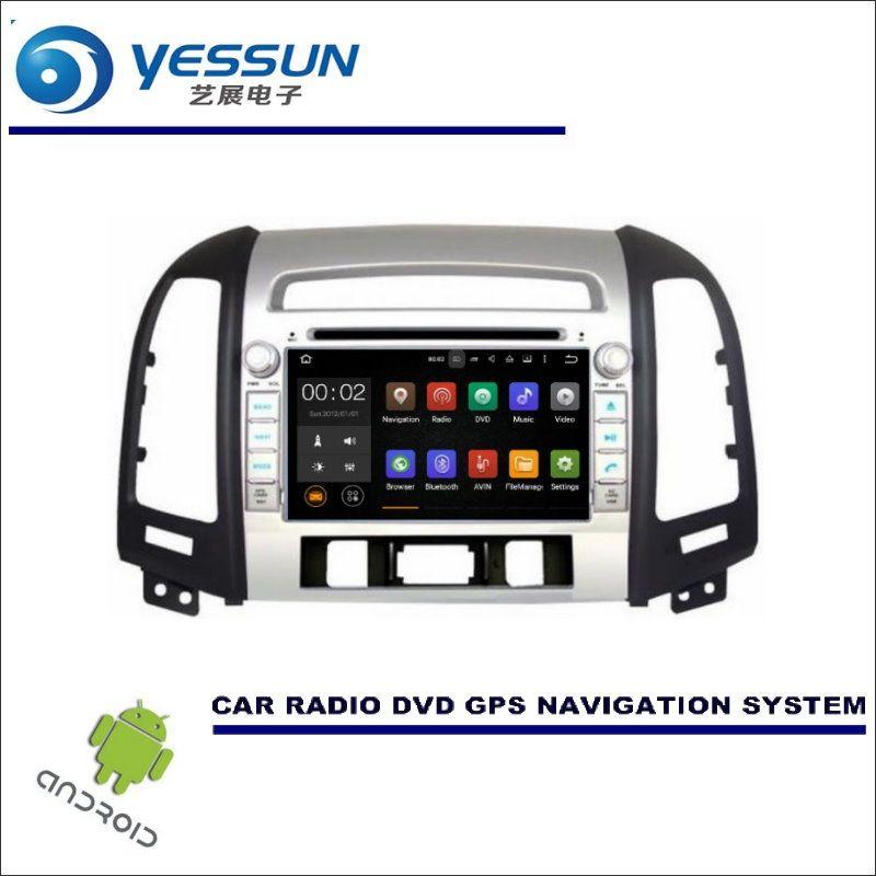 YESSUN For Hyundai Santa Fe 2006~2012 DVD CD GPS Player Radio Navi