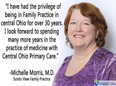 Central Ohio Primary Care Welcomes Dr  Michelle Morris to Scioto