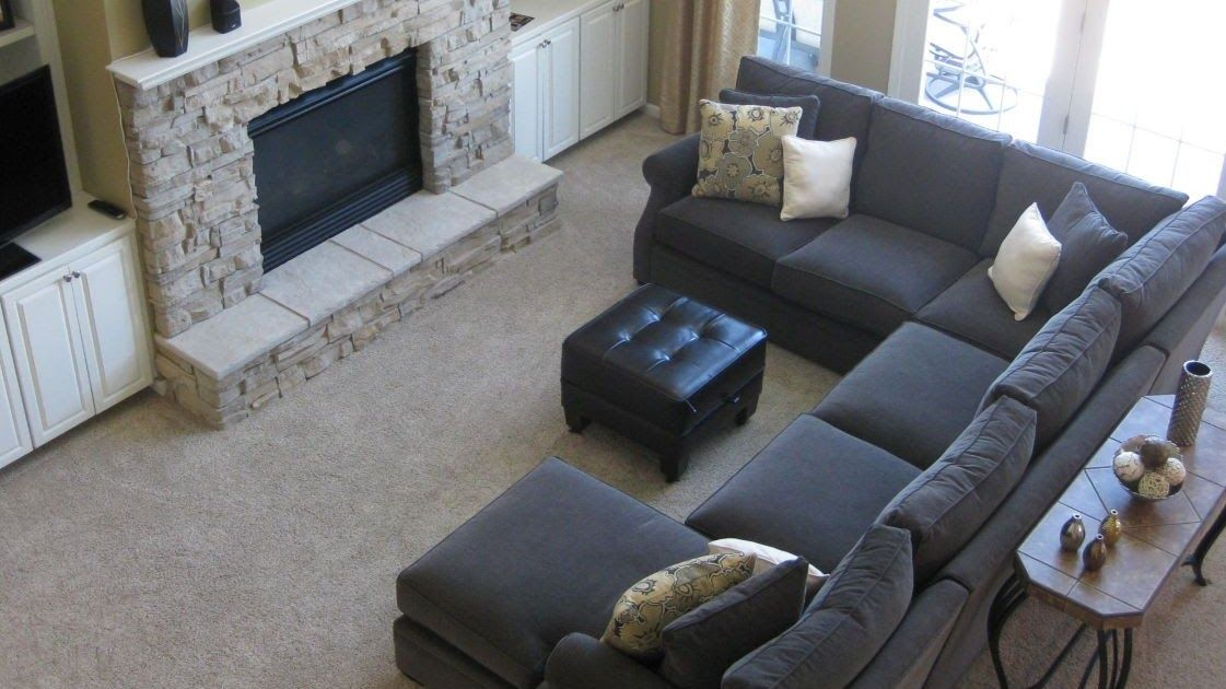 Living Room Corner Couch Designs Best Sofa Fireplace Design 20