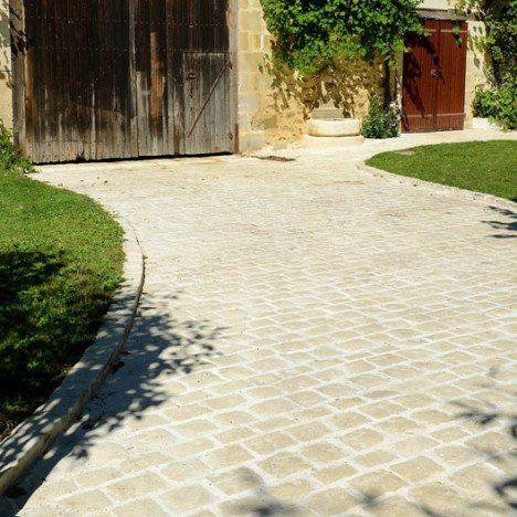 Trame Pierre Reconstituee Ton Pierre L 52 Cm X L 42 Cm X Ep 20 Mm Paves Exterieur Terrasse Jardin Bois Dallage Exterieur