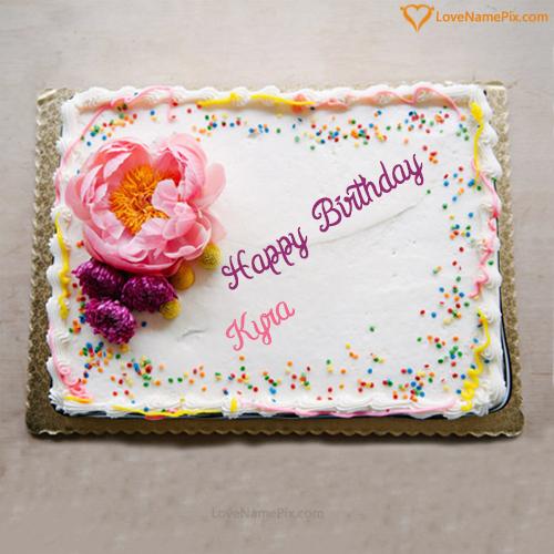 Kyra Name Picture Edit Birthday Cake Generator in 2020