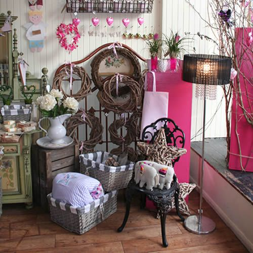 Shabby Chic Shop Love This Rustic, Shabby Chic Style Florist Shop