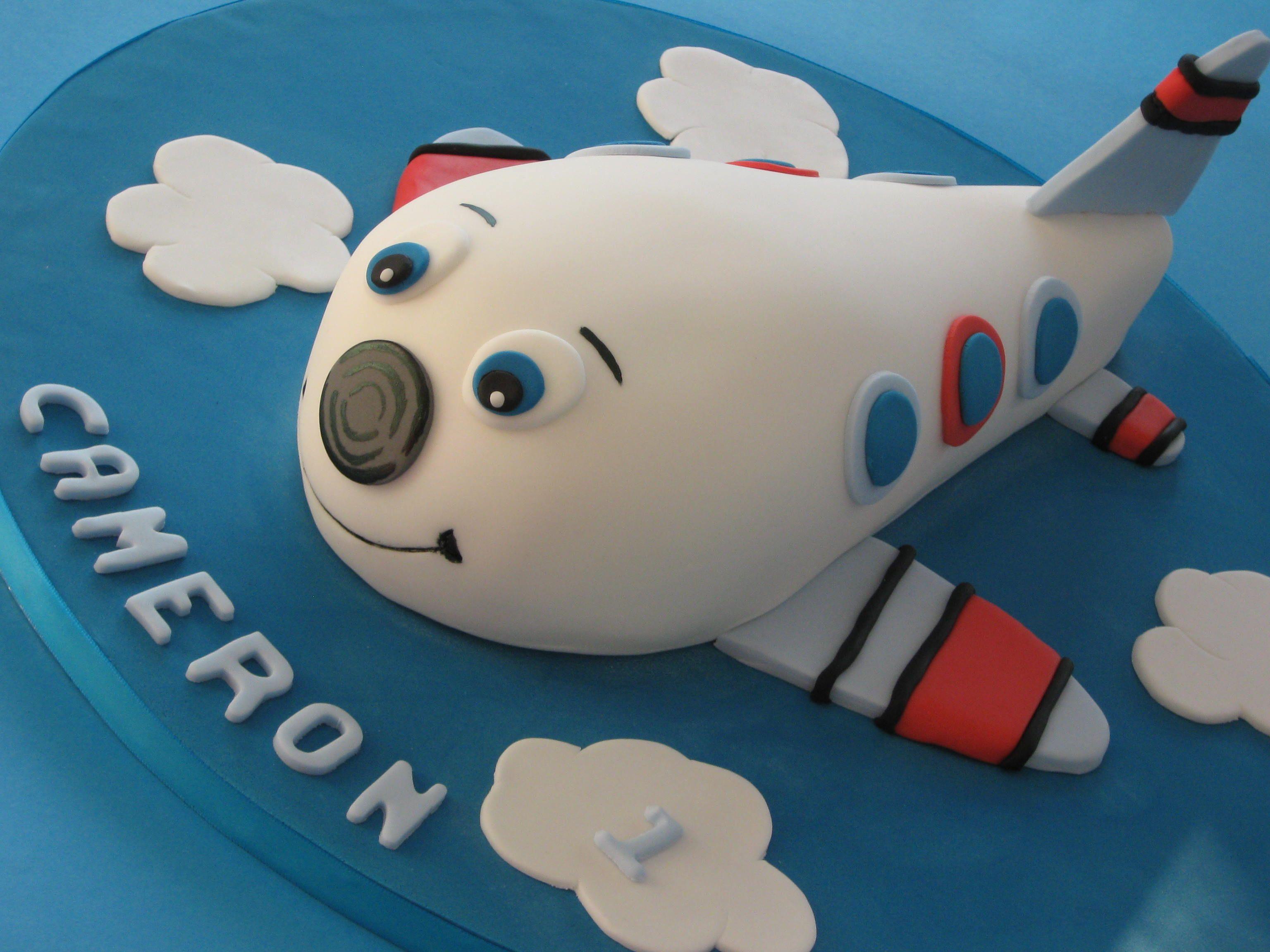 Aeroplane cake childrens birthday cakes boy birthday