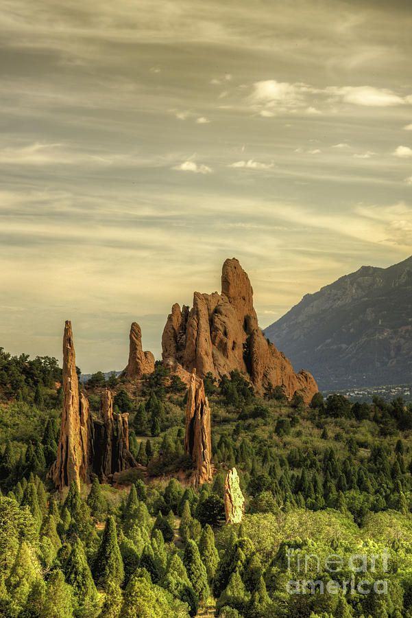 ✮ Illuminating Rock - Colorado Springs, CO | Travel | Pinterest ...