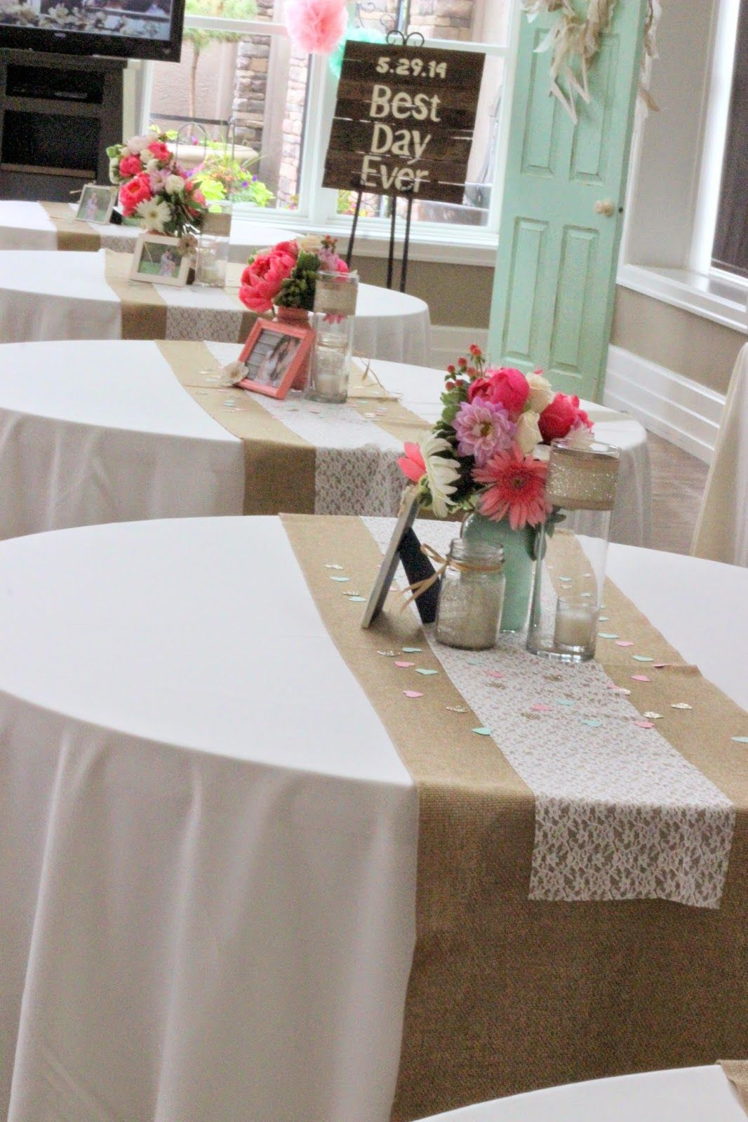 Coral mint celebrations weddings and wedding