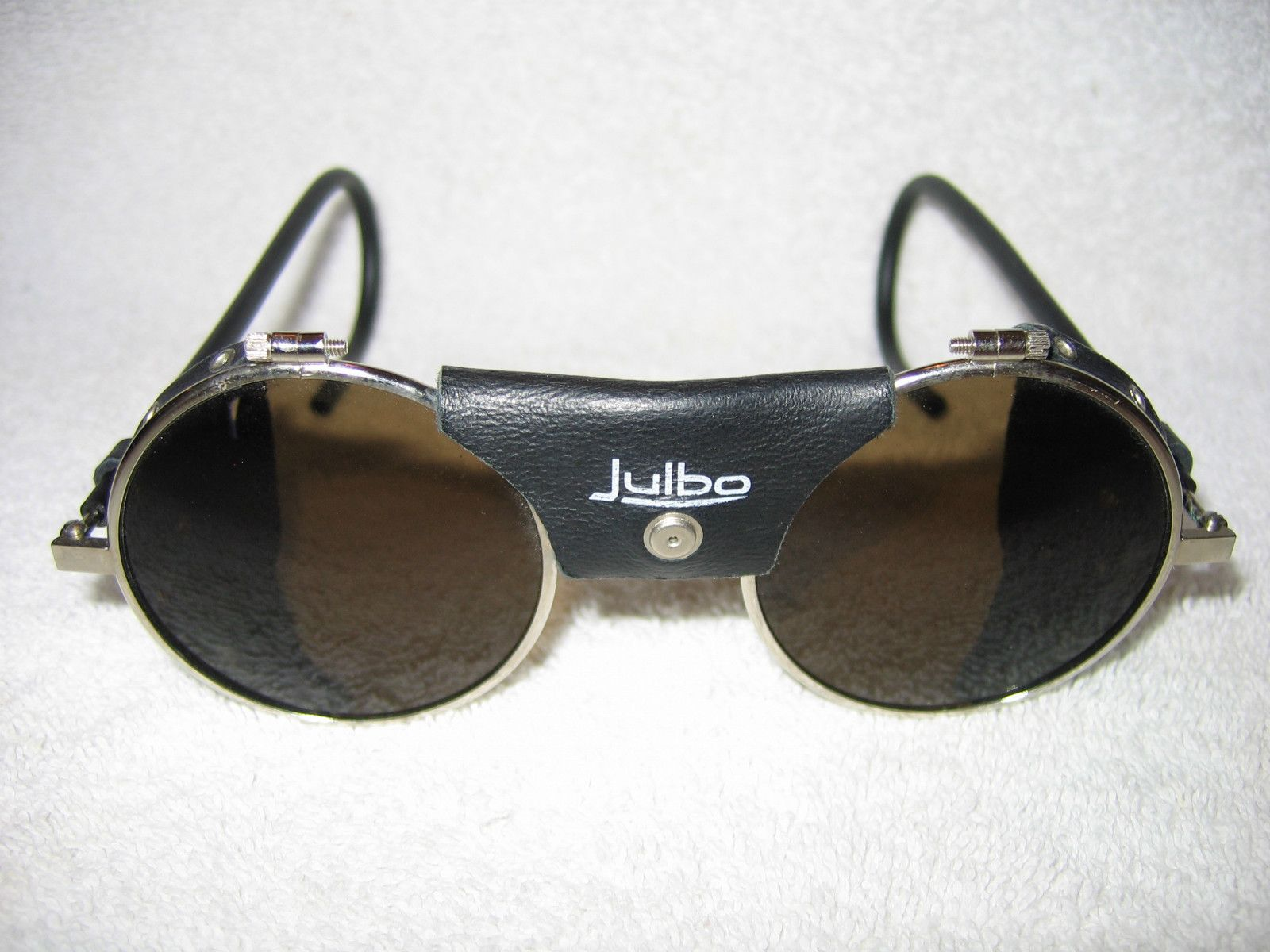 464a6a08031811 Julbo Sunglasses (Vintage Glacier Mountaineering Steampunk Leather  Blinders, Men s Pre-owned Designer Sun