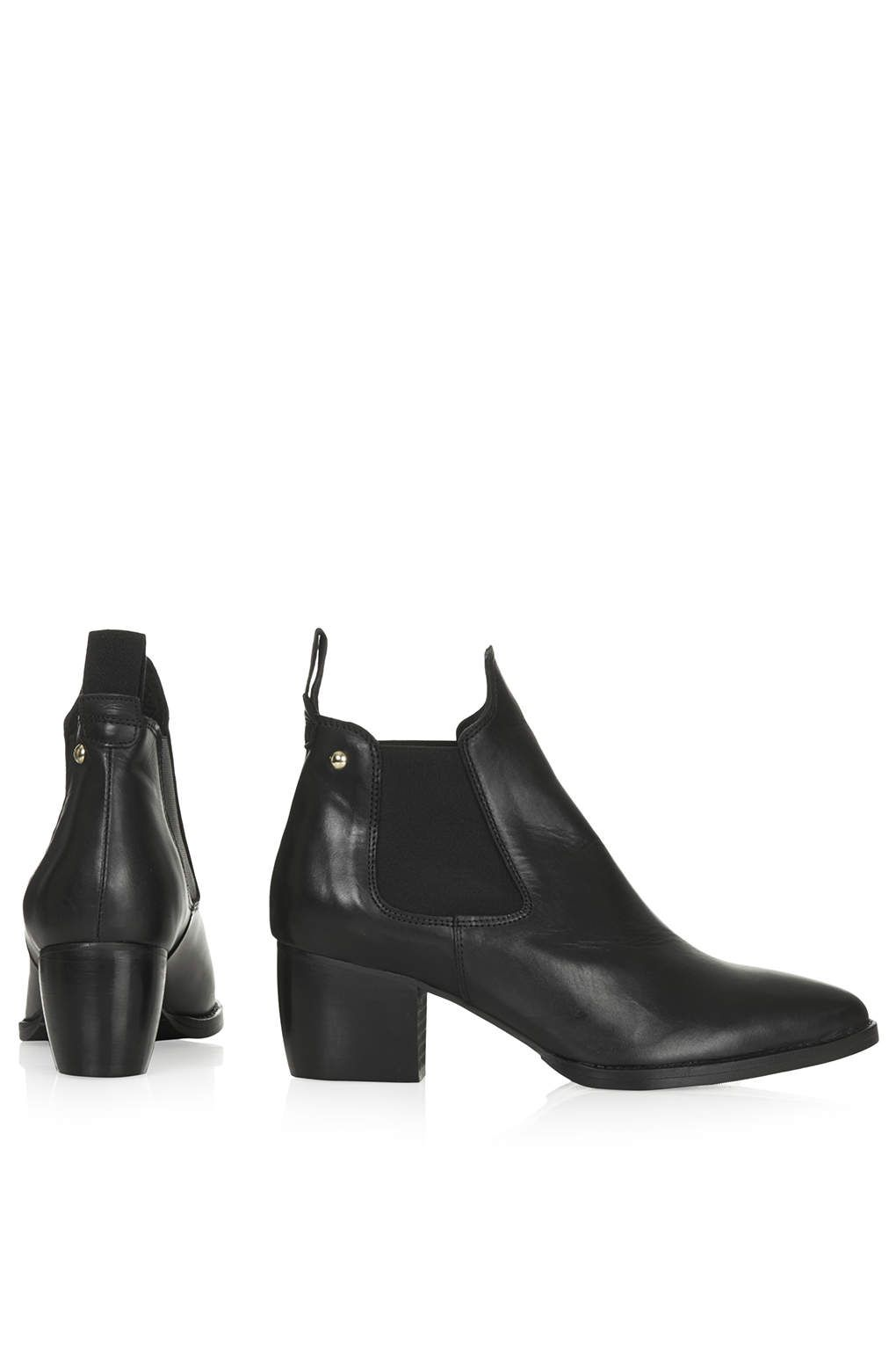 MARGOT Leather Boots - Boots - Shoes